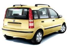 Fiat Panda mini car 5dr|airco|2suitcases|abs|airbags|cd|music|