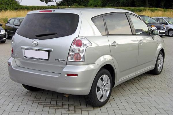 Toyota Corolla Verso 5seater long