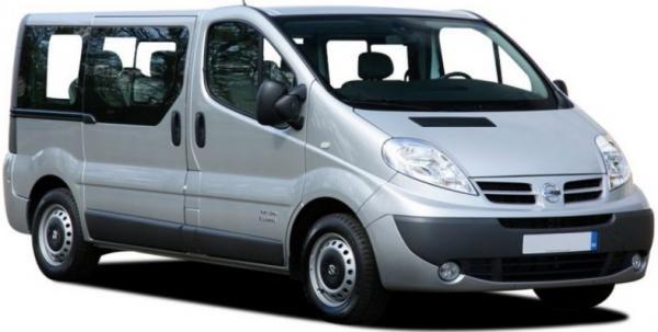 Nissan Primastar-VW Transporter 9seater-petrol