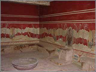 Minoan Palace Heraklion knossos